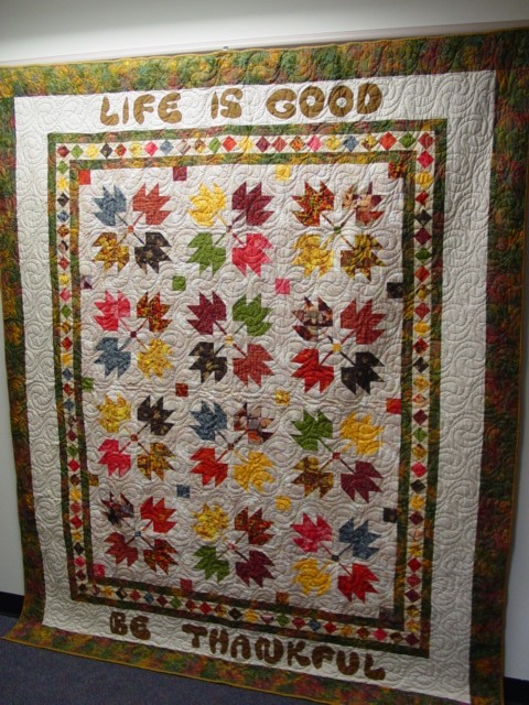 Life is Good, 72 x 84 inches, by O.V. Brantley, 2002.