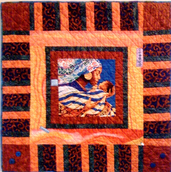 A Mother's Glory, 33 x 33 inches, by O.V. Brantley, 2009.
