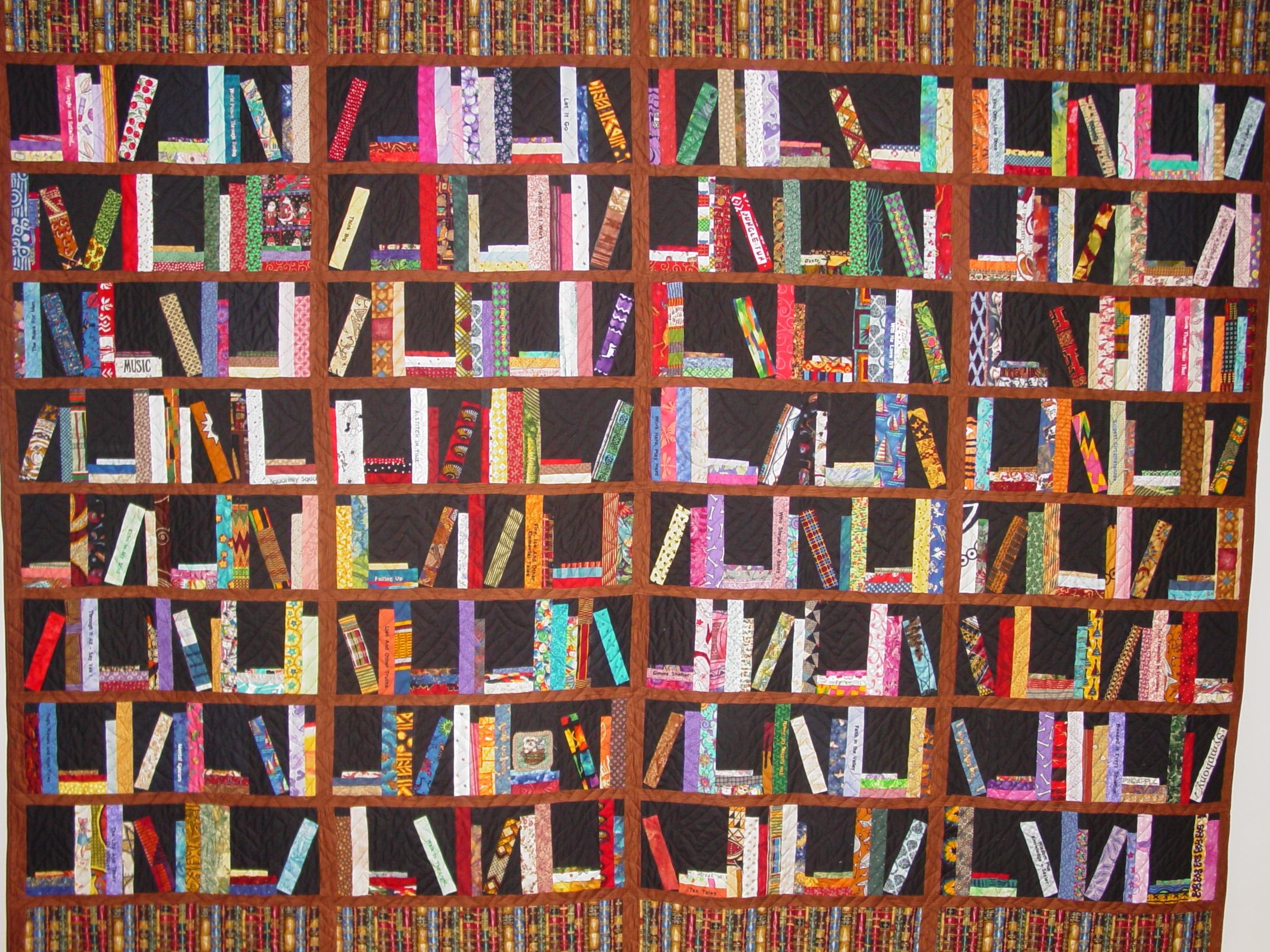 how do you organize your quilt books o v brantley