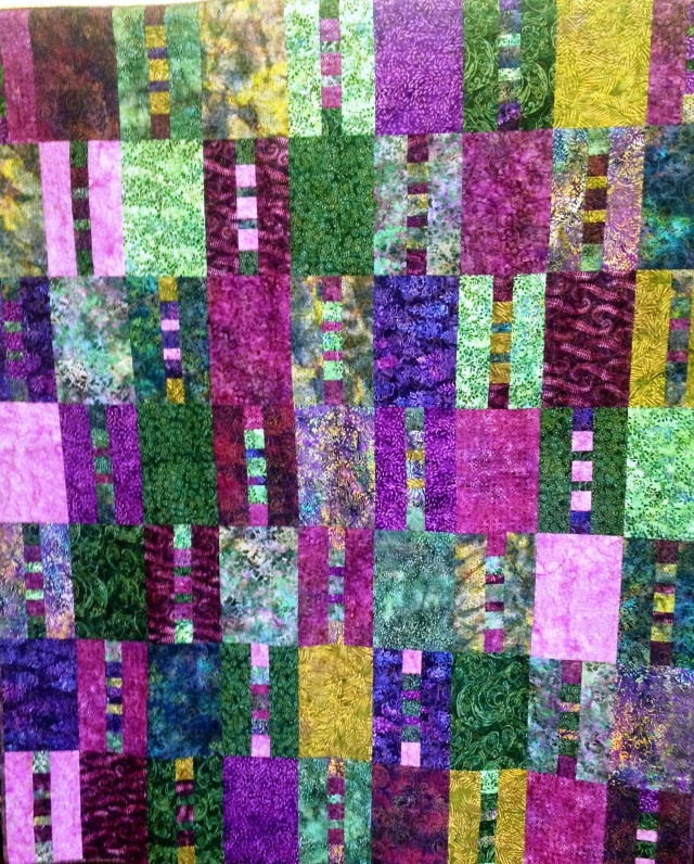 A Peaceful Place, 58 x 70 inches, by O.V. Brantley, 2012. For sale at www.etsy.com/shop/ovbrantleyquilts