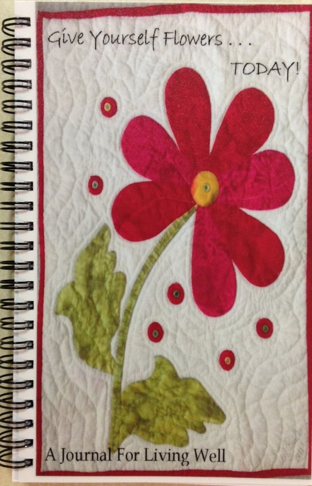 Give Yourself Flowers creativity journal