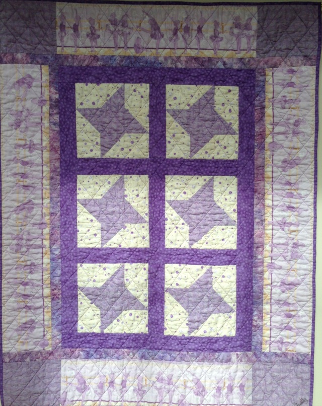 Wlcome to the World, Jazz SImone Milver, 35 x 45 inch quilt, by O.V. Brantley, 20