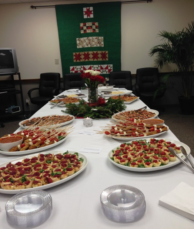 Christmas on Stonebriar in DeKalb County Law Department conference room, 2013.