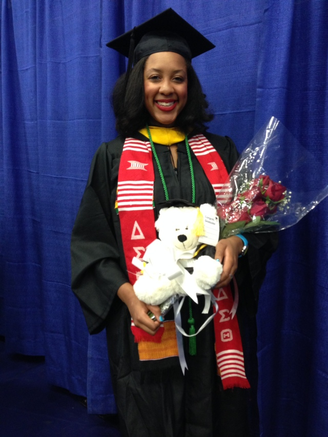India Brantley after graduating from the University of Pittsburgh