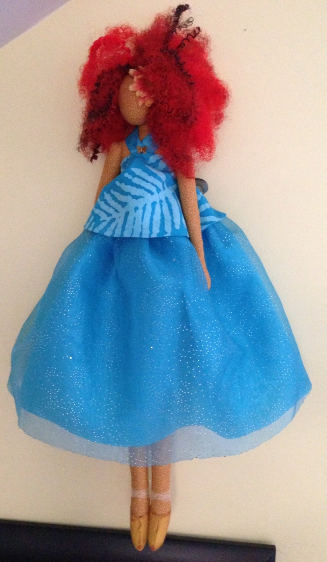 Nicole, a doll by Cookie Patterson