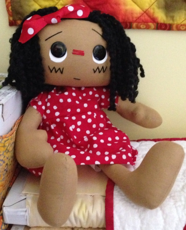 Anita, a doll by Jocelyn Carter